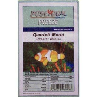 Poseidon Freeze Quartett Marin (Meerwasser) 100g Blister 10x100g