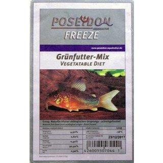 Poseidon Freeze Grünfutter Mix 100g Blister 10x100g
