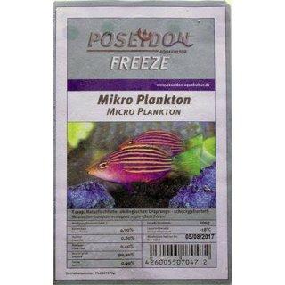 Poseidon Freeze Mikroplankton 100g Blister 10x100g