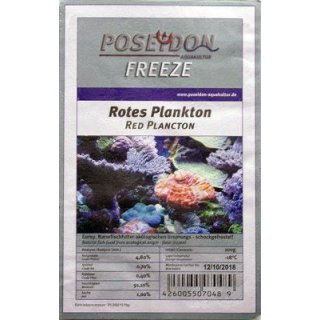 Poseidon Freeze Plankton rot 100g Blister 10x100g
