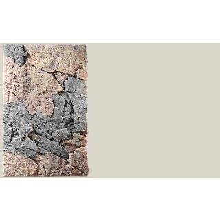 Slim Line Rückwand 80B Basalt/Gneiss L: 50 x H: 80 cm