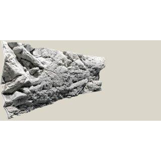 Rückwand Malawi white L: 200 x H: 60 cm