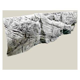 Rückwand Tanganyika white L: 200 x H: 60 cm
