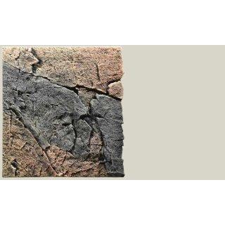 Slim Line Rückwand 60A Basalt/Gneiss L: 50 x H: 55 cm