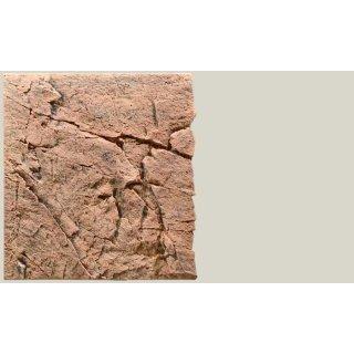 Slim Line Rückwand 60A Red Gneiss L: 50 x H: 55 cm
