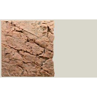 Slim Line Rückwand 60B Red Gneiss L: 50 x H: 55 cm