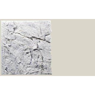 Slim Line Rückwand 60A White Limestone  L: 50 x H: 55 cm