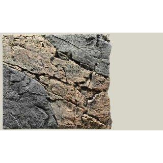Slim Line Rückwand 50B Basalt/Gneiss L: 50 x H: 45 cm