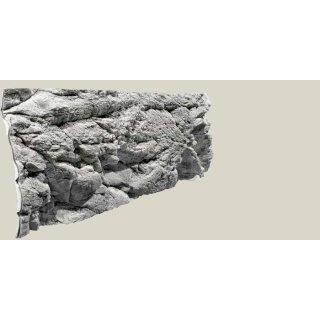 Rückwand Malawi white L: 150 x H: 50 cm