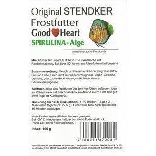 Stendker Goodheart 100g Blister SPIRULINA