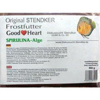 Stendker Goodheart 500g Flachtafel SPIRULINA